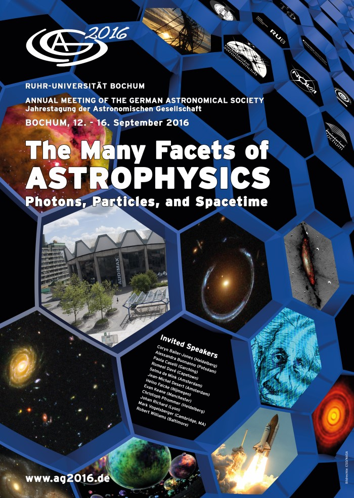 Annual Meeting of the German Astronomical Society 2016