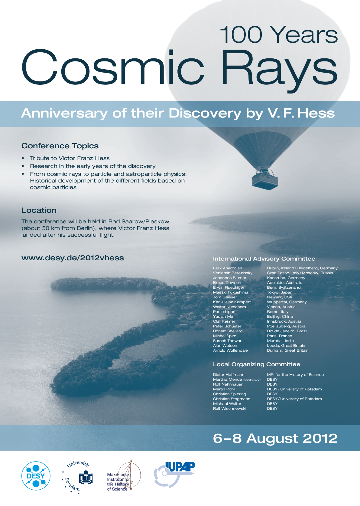 100 Years of Cosmic Rays Discovery