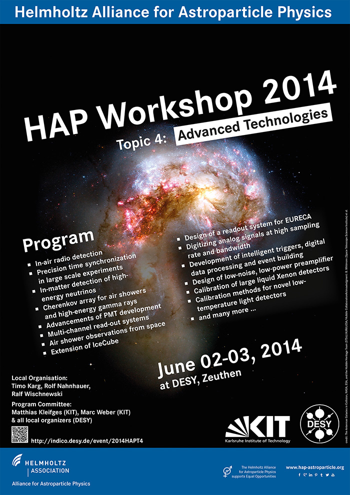 HAP-Workshop 2014 Topic 4
