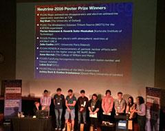 Neutrino 2016 - Poster Prize
