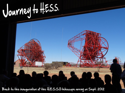 Journey to H.E.S.S.